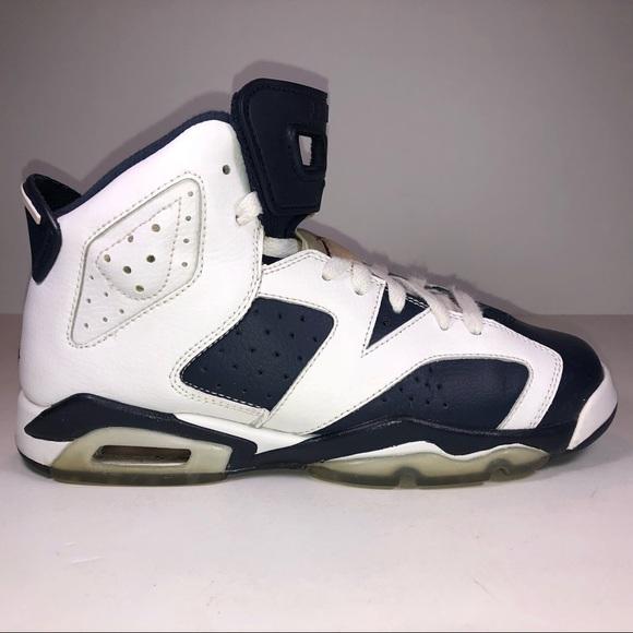 c413b468146267 Jordan Shoes - Jordan Retro 6 GS White